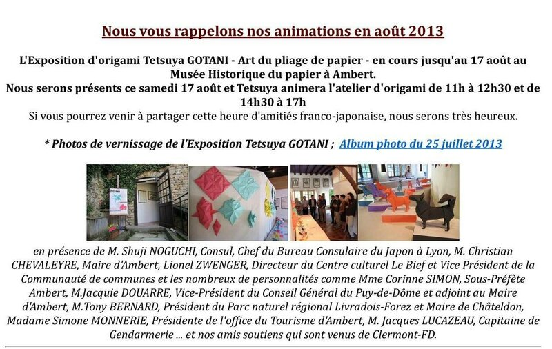 newsletter aout