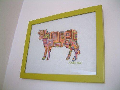 Parade des vaches !