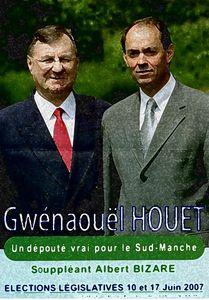 Guénhael Huet Gwenaouel Houet 2007 député Manche