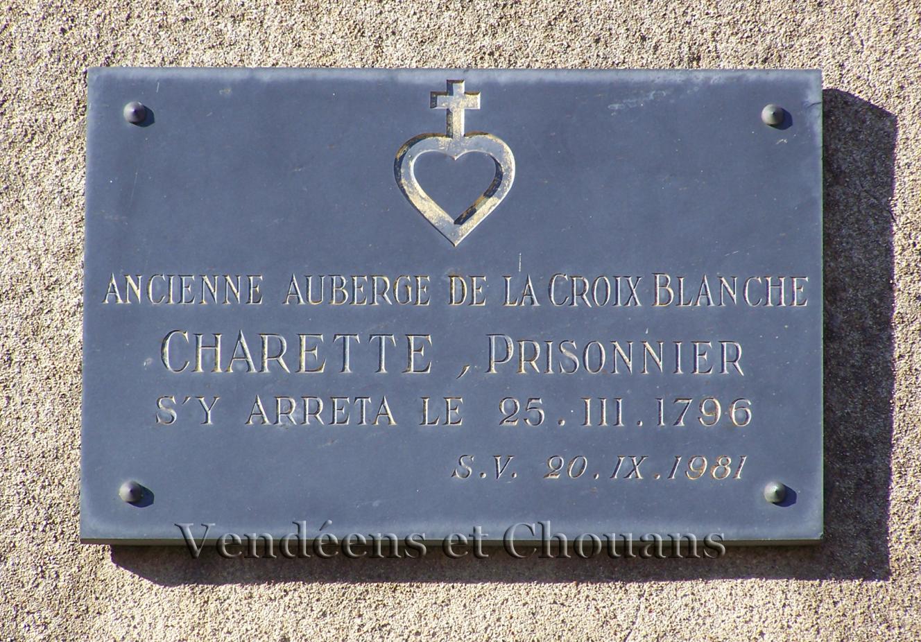 Quand Charette fit halte à Saint-Lambert-du-Lattay…