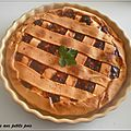 Tourte aux petits pois