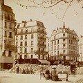 barricade bd. Magenta 1870