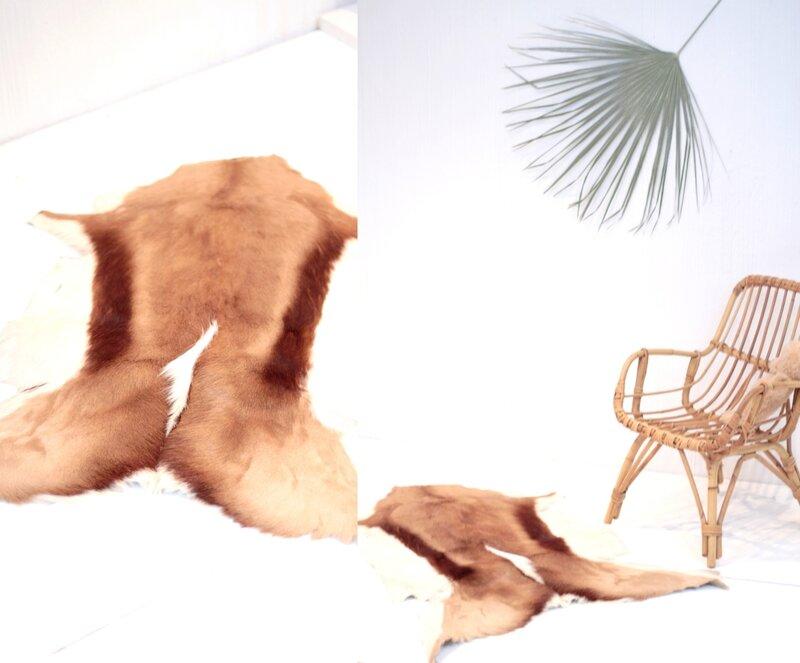 tapis chambre enfant tapis peau chèvre TRENDY LITTLE 4