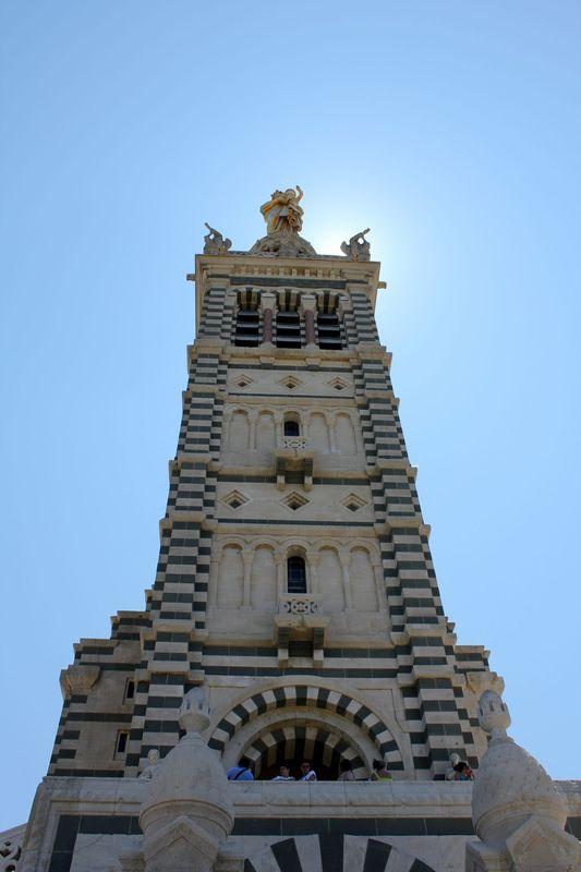 Extérieur Basilique Notre-Dame de la Garde