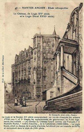 Ancien nantes - le château 3