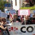 4 août : manif anti corrida à bayonne