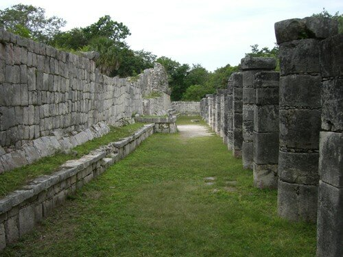 Chichen Itza - The Market