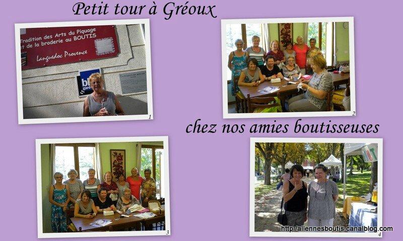Visite à Gréoux-les-Bains