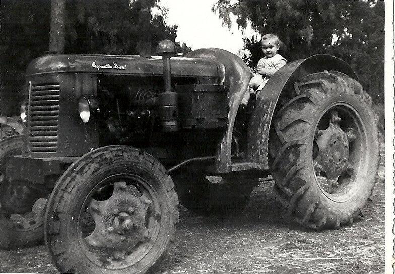 Le tracteur de papa