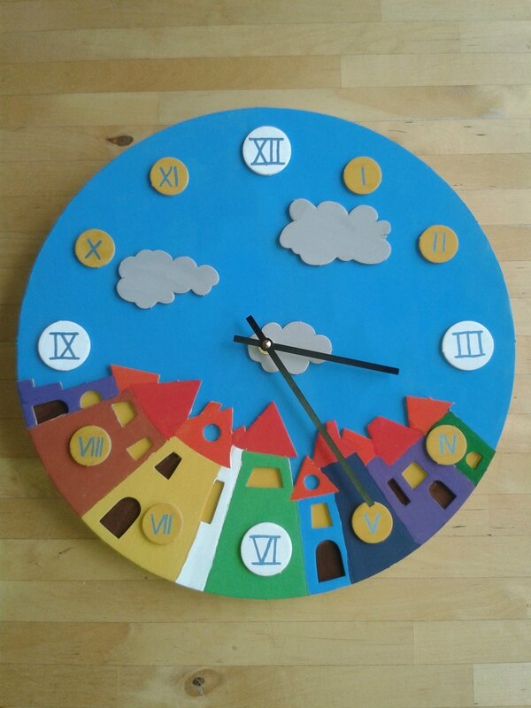Alban kit horloge village Mars16