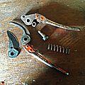Les outils de coupe indispensables au jardinier