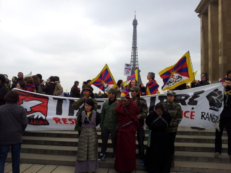 10 march 2012 Paris Tibet 2