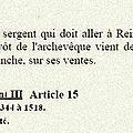 1405 18 septembre : perrote a été taxée...