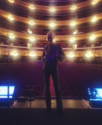 le 08 mars 2016 Rester Vivant Tour au Gran Theatre del Liceu de Barcelone
