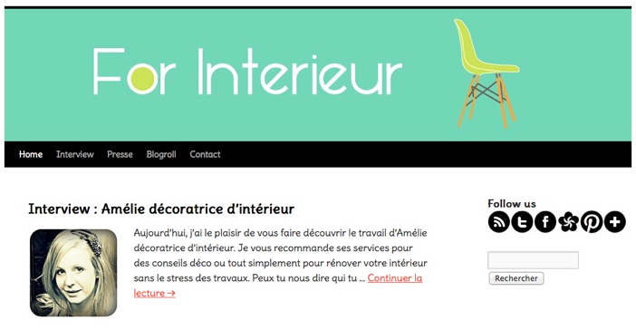 Interview For Interieur