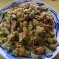 Pâtes aux moules et au chorizo