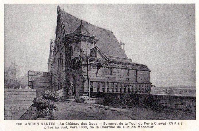 Ancien Nantes - sommet tour du Fer à Cheval