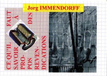 ART OUT OF ART - Jorg IMMENDORFF