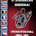 Concours international de video - obernai