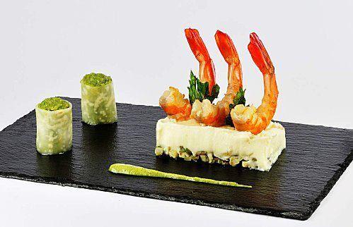 Entree froide ma cuisine en blog for Entree gastronomique