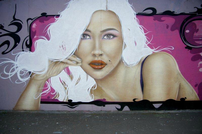 les blondes et les brunes du port de Brest