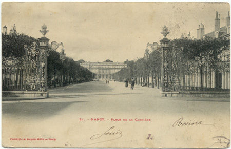 54 - NANCY - Place de la Carrière