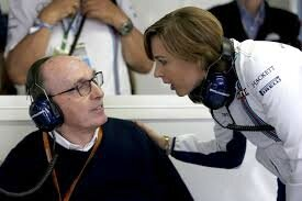 williams race day brazil frank and claire