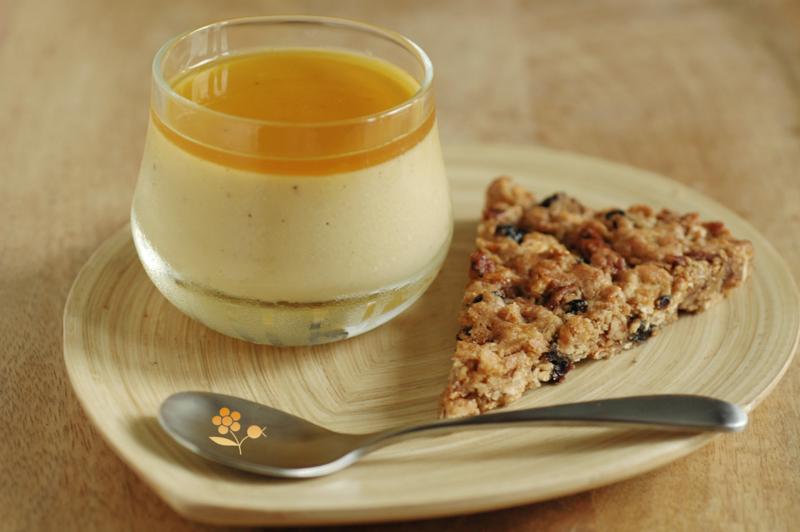 Crème orange & purée de noix de cajou_4