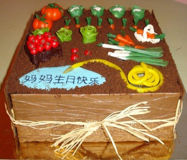 Gâteau potager 2