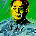 Cultural revolution: rare warhol painting of chairman mao to star at bonhams