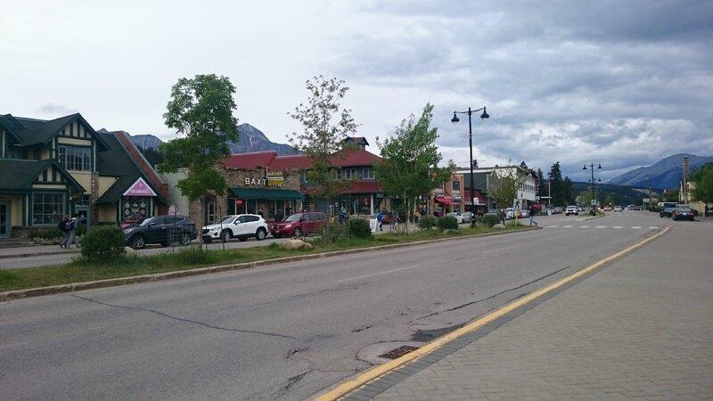 Centre ville de Jasper