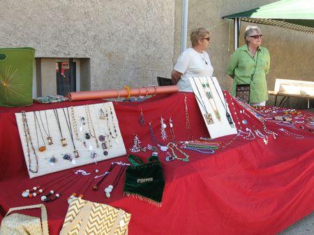 Les bijoux de perles et de verre