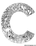 c_animal_alphabet_letters_to_print
