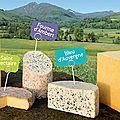 A la re-découverte des fromages d'auvergne avec une recette de printemps.