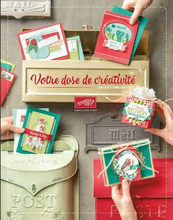Catalogue noël Stampin' Up!
