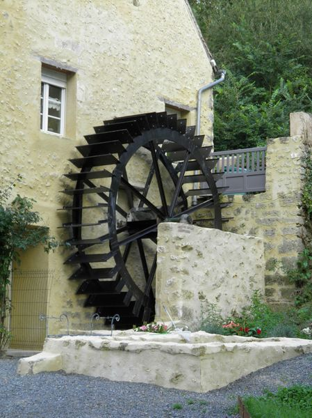 9 Moulin de Courtangis La Roue