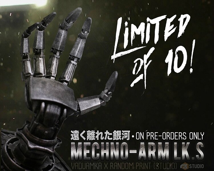 Controller Display Mechno ARMS LK.S1:1 Scale
