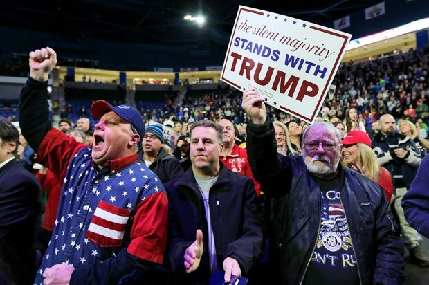 Angry White males for Trump
