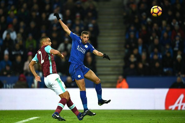 Buts Leicester City West Ham, résumé Leicester City West Ham, vidéo Leicester City West Ham,but Islam Slimani , but Leicester City West Ham, but slimani