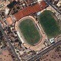 صورة لملعب الحارتي صورة ماخوذة بواسطة القمر الاصطناعي