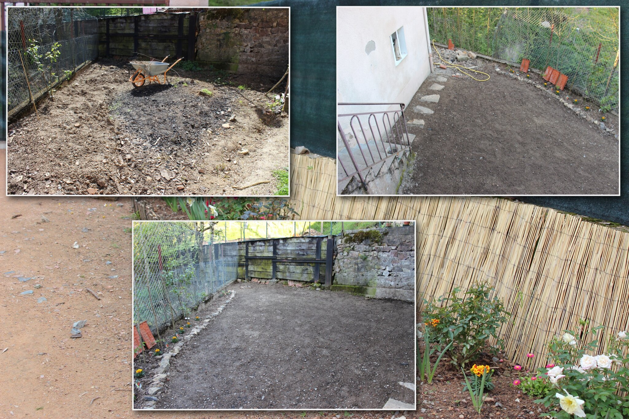 Un grand nettoyage la campagne notre nouvelle vie for Comment cacher un mur