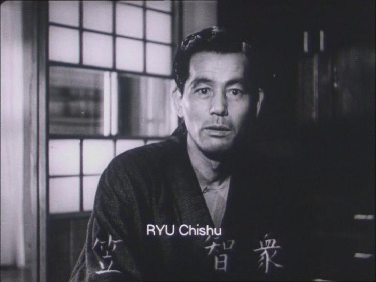CanalBlog Cinema Ryu Chishu Kanji01 Ete Precoce
