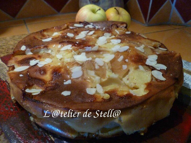 clafoutis aux pommes bis
