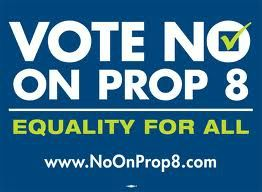 Proposition 8 no vote