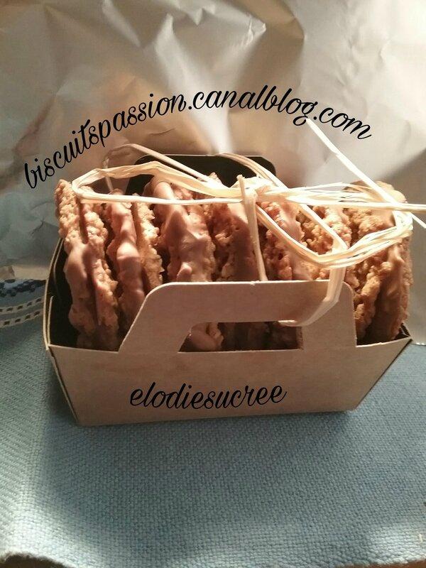 Biscuits aux flocons d'avoine 050