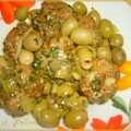 Dolma aux olives