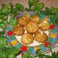 Muffins salés coeur au fromage