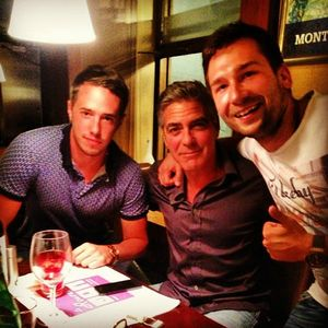 """George Clooney at """"The Rouvenaz"""", Montreux, Wednesday 21st August 2013 89234768_p"""