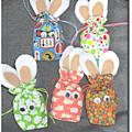 sachets lapins