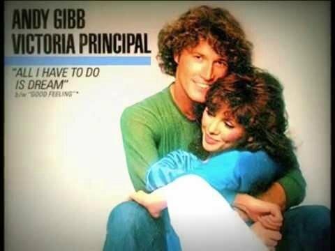 Andy Gibb & Victoria Principal